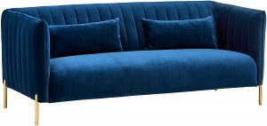 Rivet Frederick Mid-Century Sofa Couch